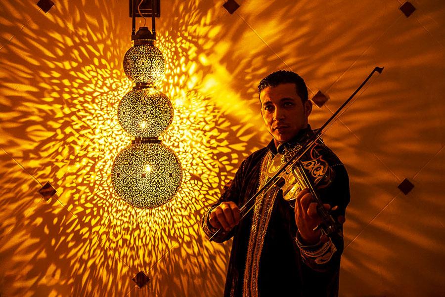 Artiste violoniste tanger